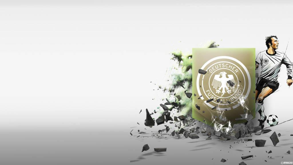Germany Football Wallpaper by Ayon-Azad