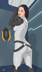 Mass Effect 2 Miranda Lawson by Flow4Master