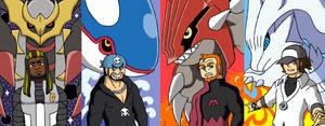 TBFP: The Super Best Pokemon Villains by Brian12