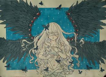 Angel girl by TachTan