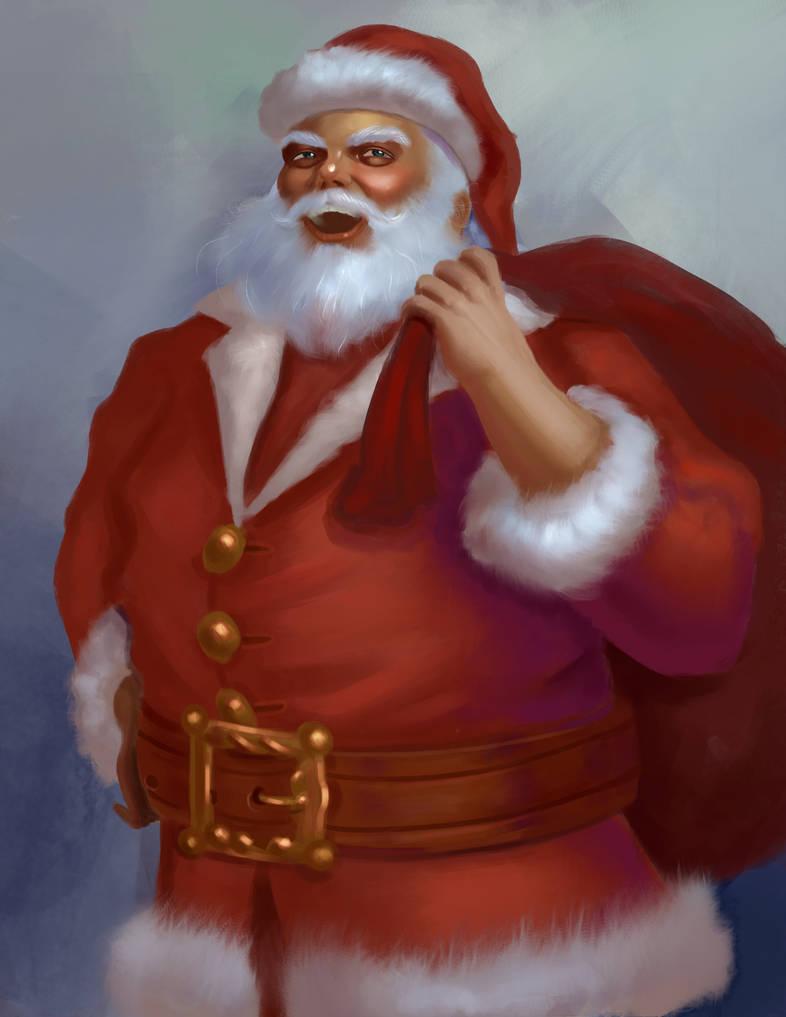 Santa by artyvicky
