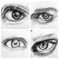Eye Studies by brittneybastedo