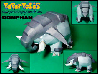 Donphan Papercraft by Skeleman