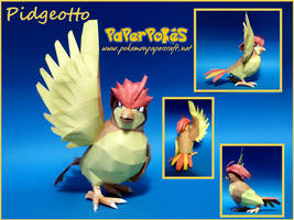 Pidgeotto Papercraft by Skeleman