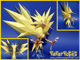 Zapdos Papercraft by Skeleman