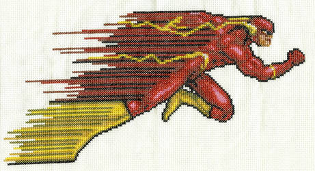The Flash Cross Stitch by Skeleman