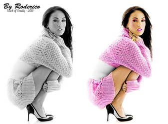 Megan Fox, Colorization by ByRoderico
