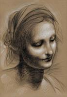 Leonardo Study by angrywhitewanker