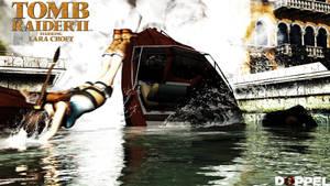 Tomb raider 2: Mine explosion by doppeL-zgz