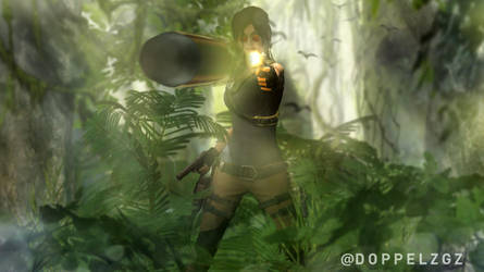 SOTTR: She is one with the jungle by doppeL-zgz