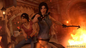 Tomb Raider: The Uncharted Chronicles - new friend by doppeL-zgz