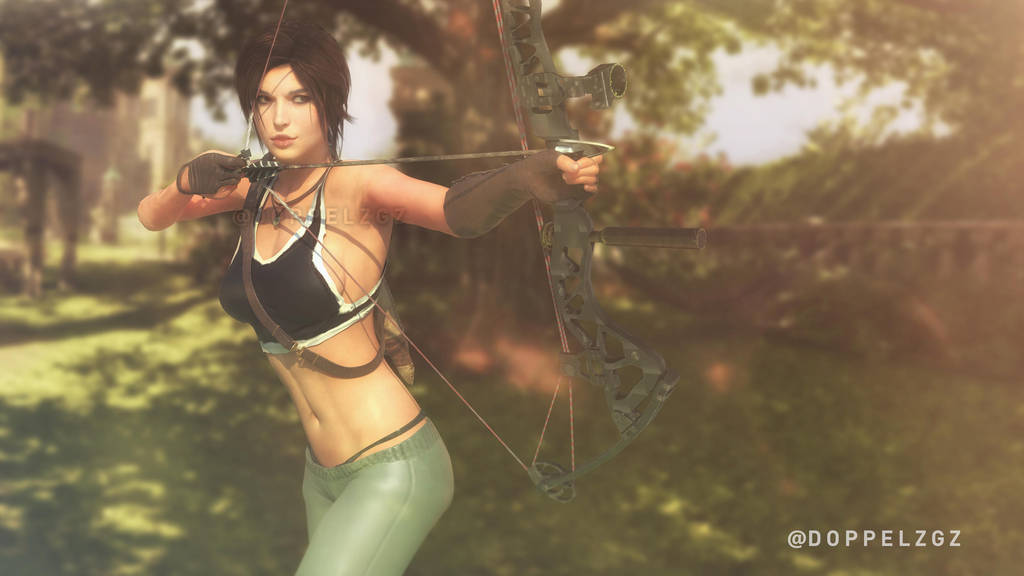 Shadow of the Tomb Raider: Croft Manor Training. by doppeL-zgz