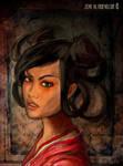 La donna del mistero by AltroEvo