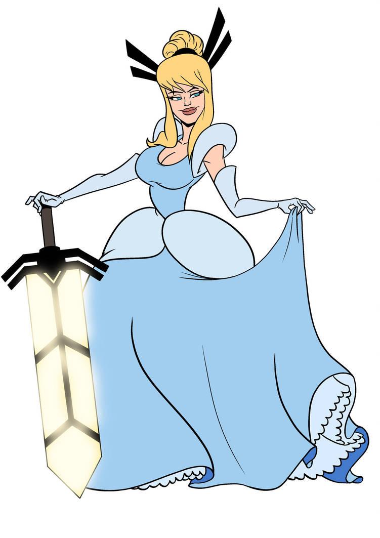 Magik as Cinderella by alienhominid2000