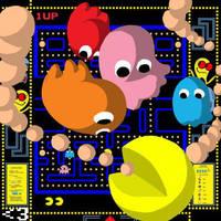 Pacman Valentine for... by BakumatsuSlayer