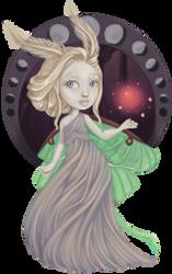 Queen of the Moths by caitlincaitiecait