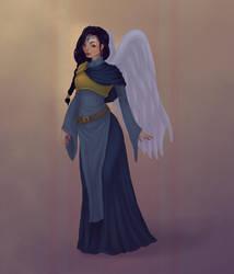 Aasimar Oracle by caitlincaitiecait