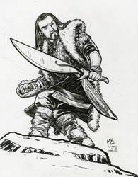 Thorin Oakenshield by michaelharris