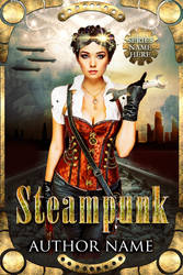 Steampunk cover--alternate model by JacquelineSweet