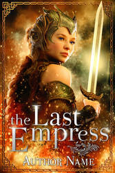 Premade Book Cover - The Last Empress by JacquelineSweet