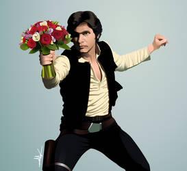Han Solo by nkunited