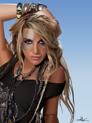 Kesha by nkunited