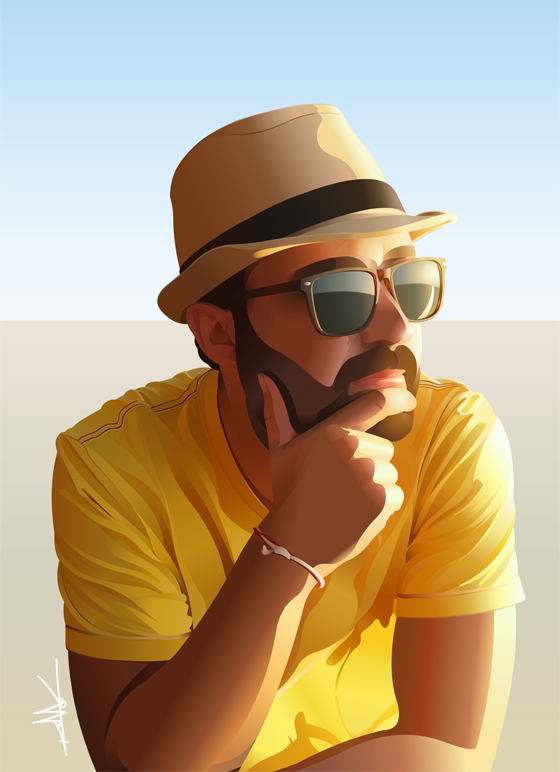 Self Portrait by nkunited