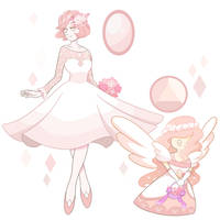 Mabe Pearl (Valentine's Day Gem) by GatlingPea32