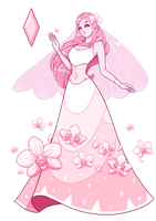 Pink Orchid Diamond by GatlingPea32