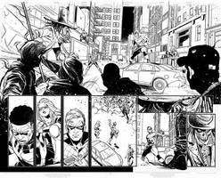 Nightwing #56 page 02-03 by DavideGianfelice