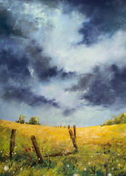 A Stormy Sky by teatimetomorrow