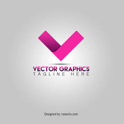Vector Graphic Design Logo free Psd by ROSEWALLPAPERS