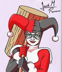 Harley Quinn by JoeRomano1997