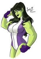 She-Hulk by JoeRomano1997