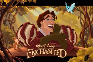 Enchanted - Edward + Friends by davidkawena