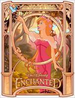 Enchanted - in Art Nouveau by davidkawena