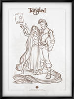 Walt Disney's Signature Collection - TANGLED by davidkawena