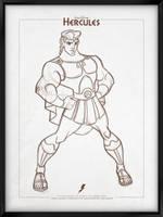 Walt Disney's Signature Collection - HERCULES by davidkawena