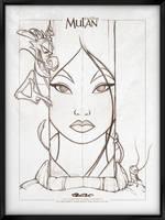Walt Disney's Signature Collection - MULAN by davidkawena