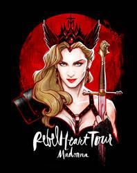 Madonna's REBEL HEART TOUR by David Kawena by davidkawena