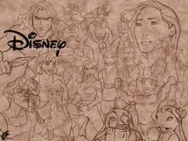 Disney - Never Stop Dreaming by davidkawena