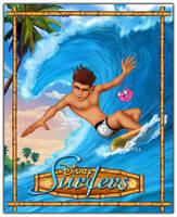 Disney Surfers - Jim Hawkins by davidkawena