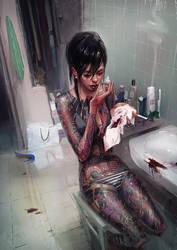 Yakuza Girl by maykrender