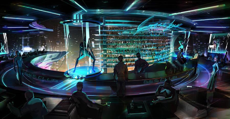 SpaceClub by maykrender