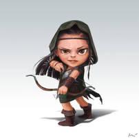 forestgirl by maykrender