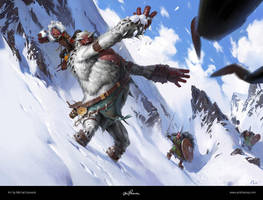Yeti / League of Legends by maykrender