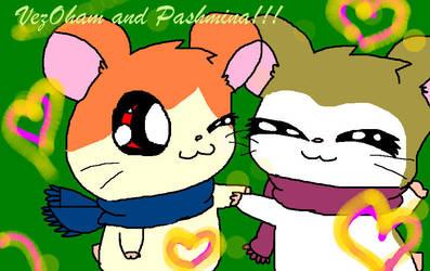 VezOham and Pashmina by Mimi-Greek