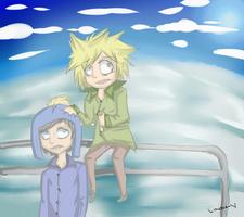 Craig and Tweek by Wyrmin