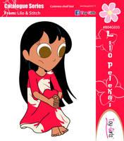 Toy Girls - Catalogue Series 35: Lilo Pelekai by mickeyelric11