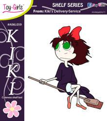 Toy Girls - Shelf Series 59: Kiki by mickeyelric11